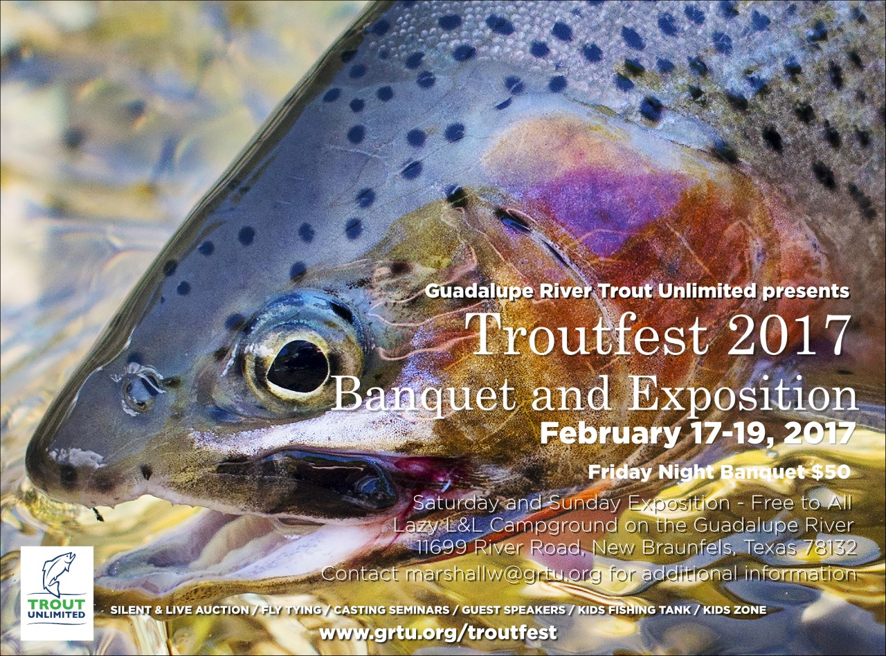 Troutfest 2017 Flyer